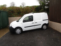 2013 , KANGOO VAN NEW SHAPE , YEAR M.O.T. 75K DRIVE'S SUPERB , £2499