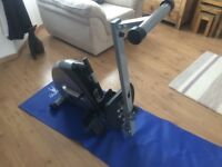 We'R Sports Rowing Machine. Foldable so ideal for limited space. Entry level rower, barely used.