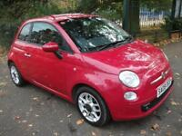 FIAT 500 1.2 Sport 3dr ++ FINANCE AVAILBLE ++ CALL 01169247 (red) 2008