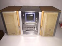 Dinky compact stereo player - great sound - Panasonic