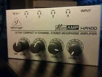 4 Channel Headphone Amp