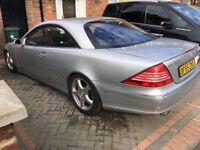 Mercedes cl500 55 reg not until May 2018