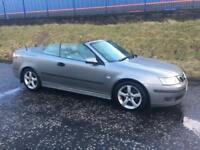 Saab 9-3 automatic convertible one owner 85000 miles