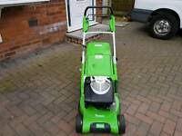 Viking petrol lawnmower made by Sthil mint condition