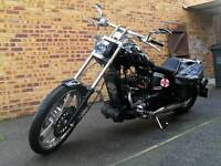 AJS custom chopper for