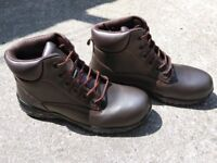 Trojan Pallas S1 Safety Boots Brown UK Size 7 EU 40.5 Lightweight Work Boots Brand New In The Box