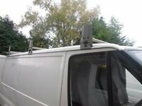 3 piece david Murphy roof rack with roller for swb ford transit