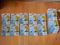 "19 Epson ""Seahorse"" Cartridges"