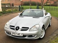 57 Reg Mercedes SLK Kompressor Auto 1.8 Petrol Convertible *FSH - HPI Clear - Good Runner - Genuine