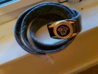 versace belt new bargain