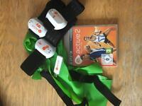 play station 3 active 2 game with accessories