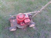 lawnmower rare 1970s hawk hayter 12
