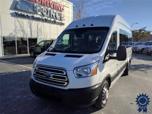 2016 Ford Transit Wagon XLT 15 Passenger, 3.2L Diesel, 51,896 KM