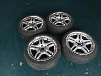 18 inch merc wheels 5x112 vw t4