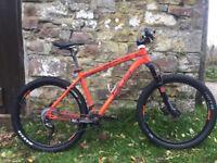 Whyte 905 mountain bike 2015 size large