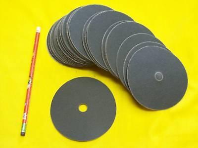 50 - 4 X 500grit Sanding Discs Sander Floor Wood Auto Hook Loop 500 Grit