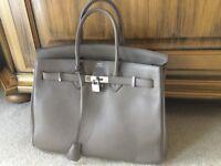 Hermes Birkin Style Bag