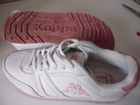 Ladies size 7 Kappa trainers