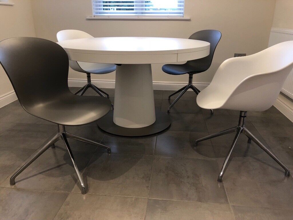 Boconcept Granada Table And Four Boconcept Adelaide Chairs In Chertsey Surrey Gumtree
