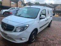 £4,800 no VAT- Mercedes Citan- Excellent condition - Low mileage- alloys - body coloured bumpers