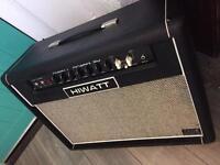 Hiwatt Hi Gain 50 all valve guitar amp Fane speakers