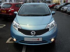 Nissan Note TEKNA DIG-S (blue) 2014-04-18