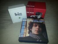 The Beatles in Mono. Bob Dylan Complete Album Collection / The Cutting Edge Deluxe