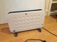Prem-i-Air 2 kW White Convector Heater with Turbo Fan and Timer