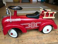 Retro Fire Engine Ride-On ( 12 months +) £30