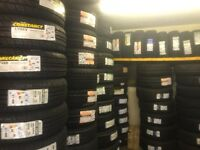 £33 205/55/16 free fitting and balanc and new valves New tyres Glasgow's first choice 245/45/19£50