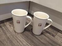 2 x 16oz Starbucks Mugs from New York