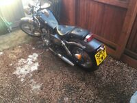 125cc motorcycle running 08 plate project.