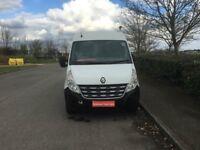 RENAULT MASTER 2.3 dCi LM35 Medium Roof Van (FWD) 4dr (LWB) (white) 2013