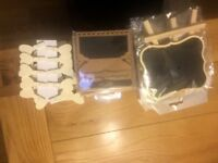 Wedding chalkboards and place cards-unused