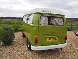 VW Westfailia 1978, Taiga Green.