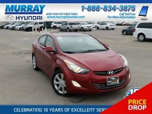 2011 Hyundai Elantra Limited with Heated Seats and Bluetooth