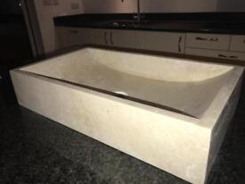 Italian marble countertop washbasin for sale