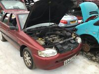 1998 FORD ESCORT FINESSE 16V (MANUAL PETROL)- FOR PARTS ONLY