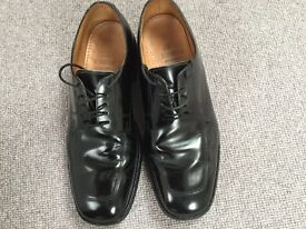 Top quality formal black shoes size 9.5 ( made in England)