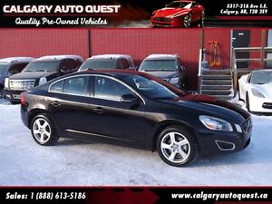 2013 Volvo S60 T5 AWD/LEATHER/SUNROOF/MUST SEE