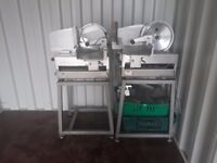 Catering equipment Restaurant cafe items meat Slicer Stainless steel Tables Clearance