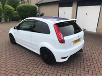 2007 Ford Fiesta ST with private plate