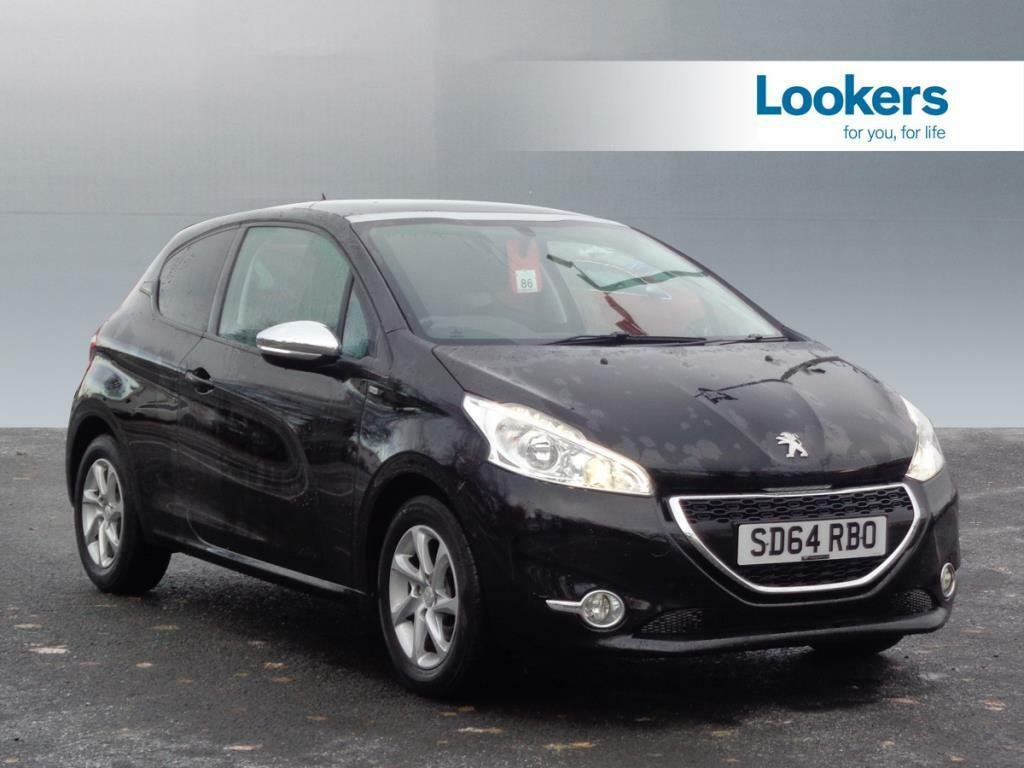 peugeot 208 style (black) 2014-09-30 | in motherwell, north