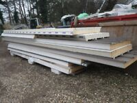 Composite Industrial Box Profile Sheets, Flashings, Cladding steel, Insulated Roofing Sheets