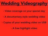 £300 All-In Wedding Videography with Free Wedding Highlight Video *summer 2016*