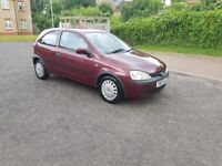 2003 Vauxhall Corsa 1.2 i 16v Club Easytronic 3dr Automatic @07445775115