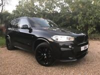 BMW X5 30D+MPERFORMANCE KIT+PAN ROOF+RARE CAR+FULL SPEC- SEE DESCRIPTION! 254BHP FULL SERVICE HIST!