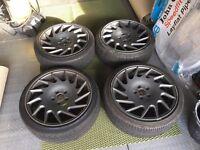 "Vossen VLE-1 5x112 Replicas 18"" w/ new tyres"