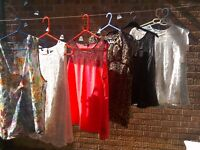 Selection of ladies tops, most size 18 or large.