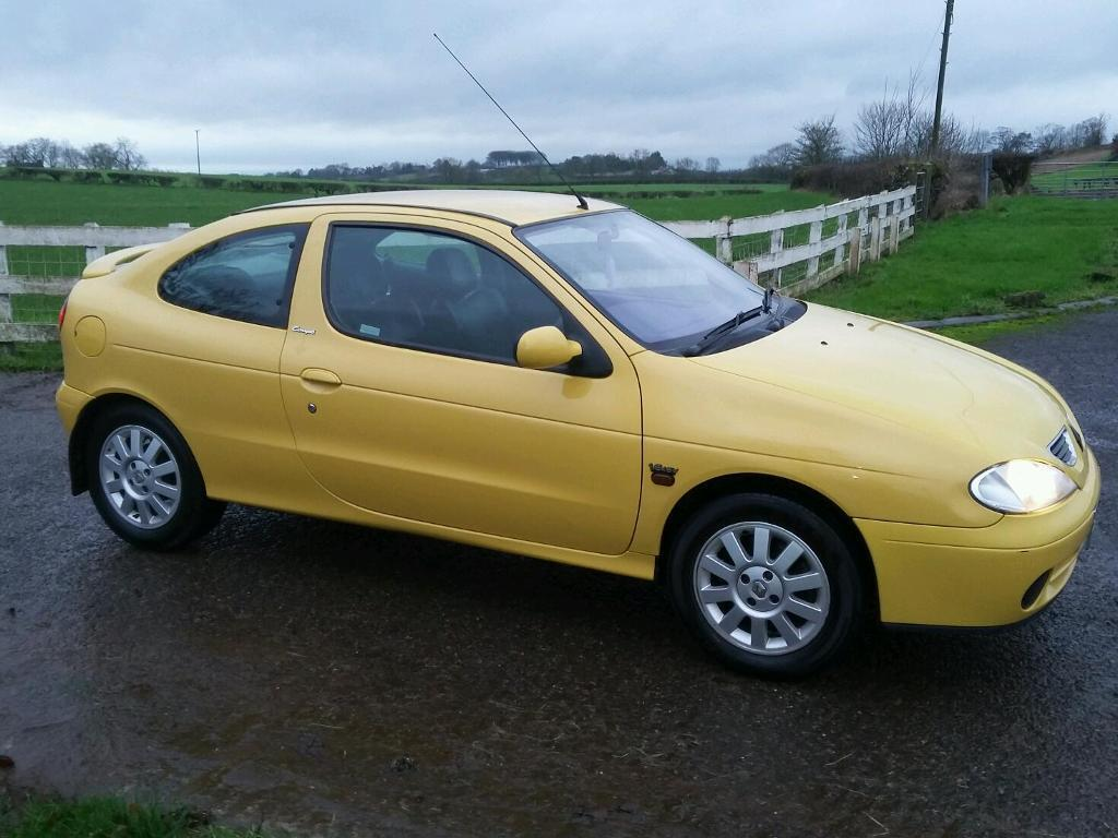 2001 renault megane coupe in armoy county antrim gumtree. Black Bedroom Furniture Sets. Home Design Ideas